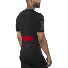 Compressport Trail Running Postural Camiseta de manga corta Hombre, black